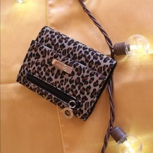 Nine West Leopard Print Wallet